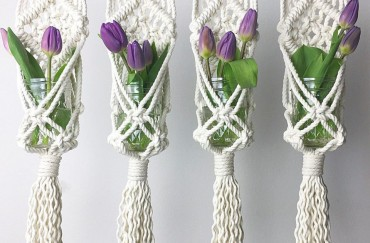 How to Make a Macramé Plant Hanger