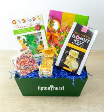 Jungle Birthday Basket